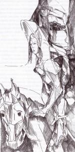 Gauvain et le chevalier vert