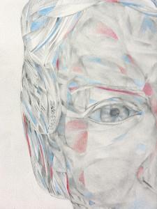 mine graphite et crayons de couleurs