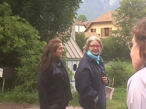 Promenade dans le village de Chichilianne