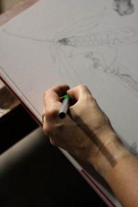 Position de la main