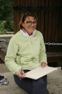 Anne venue nous rejoindre pour dessiner