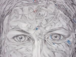 mine graphite et crayons de couleur