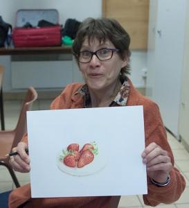 les fameuses fraises....